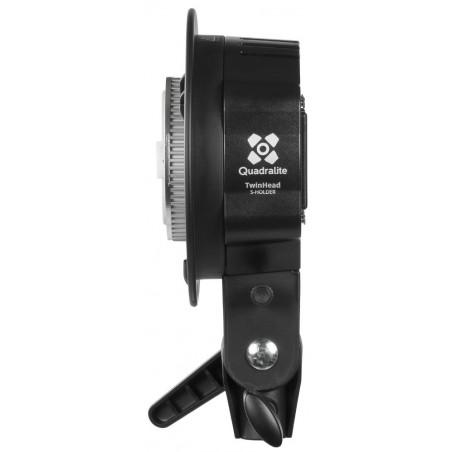 Quadralite głowica Reporter 200 Twin Head S-holder