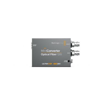 Blackmagic Mini Converter Optical Fiber 12G bez wkładki SFP