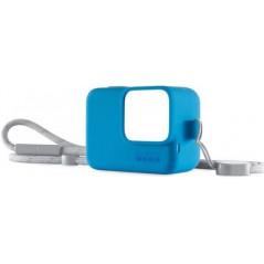 GoPro Sleeve + Lanyard - silikonowa obudowa koloru niebieskiego