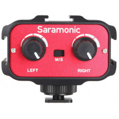 Saramonic Adapter audio SR-AX100 do VDSLR i kamer