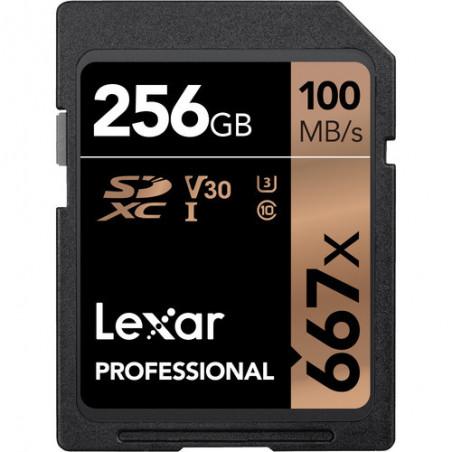 Karta pamięci LEXAR 256GB X633 PROFES. SDXC UHS-1 (U3) (CLASS10)