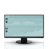 """Eizo FlexScan EV2450 monitor LCD z matrycą 24"""" (EV2450-BK)"""