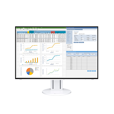 "EIZO FlexScan EV2457 monitor LCD z matrycą 24,1"" (EV2457-WT)"