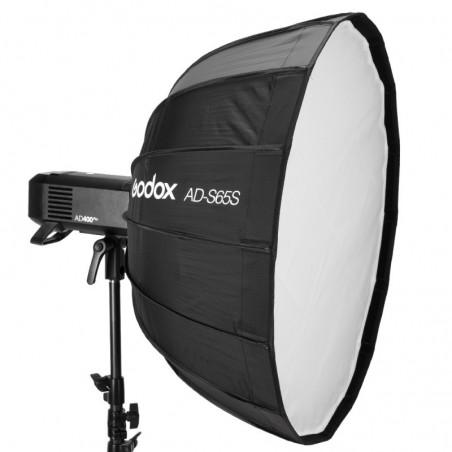 Godox Softbox AD-S65S srebrny paraboliczny 65cm z mocowaniem dla AD400PRO