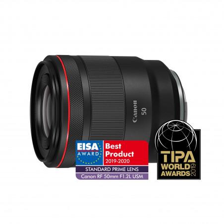 Canon RF 50mm f/1.2L USM + zwrot 1050 brutto przy zakupie z aparatem