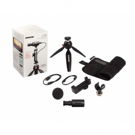 Shure MV88 + Video Kit mikrofon pojemnościowy do mobilnego nagrywania dziwięku wysokiej jakości