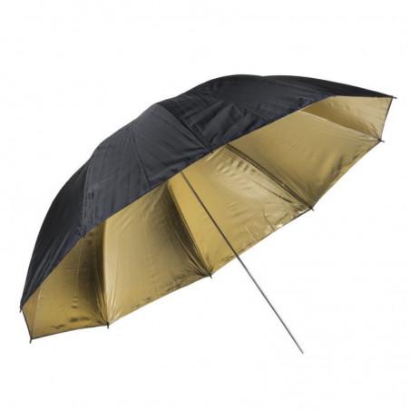 Quadralite parasolka złota 150cm