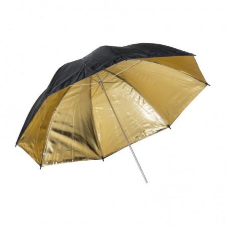 Quadralite parasolka złota 120cm