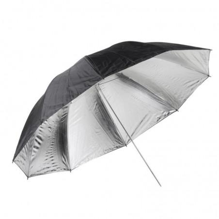 Quadralite parasolka srebrna 150cm