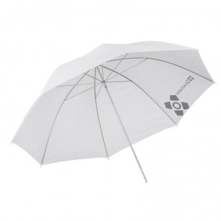 Quadralite parasolka biała transparentna 120cm