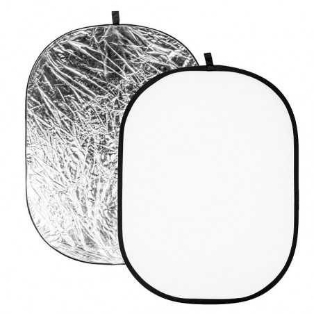 Quadralite Blenda srebrno-biała 120x180cm