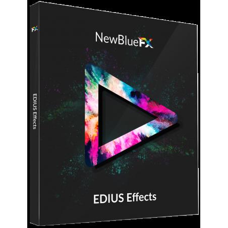 Edius efekty NewBlue