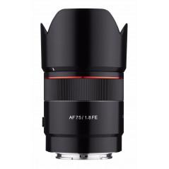 Samyang AF 75mm f/1.8 Sony E   Filtr Kenko 58mm GRATIS!