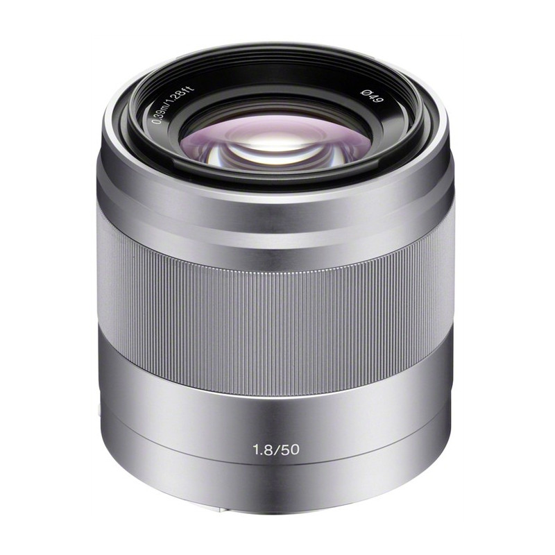 Obiektyw Sony SEL-50F18 + Cashback