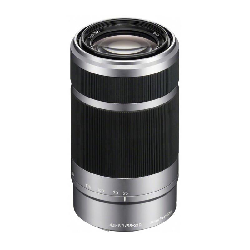 Obiektyw Sony SEL-55-210 srebrny