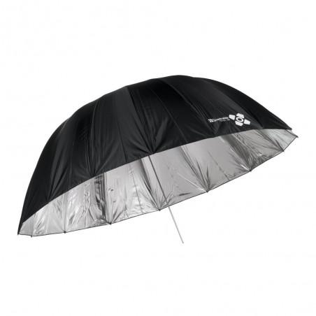 Quadralite Space 185 srebrny parasol paraboliczny
