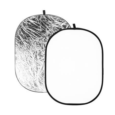 Quadralite Blenda srebrno-biała 90x120 cm
