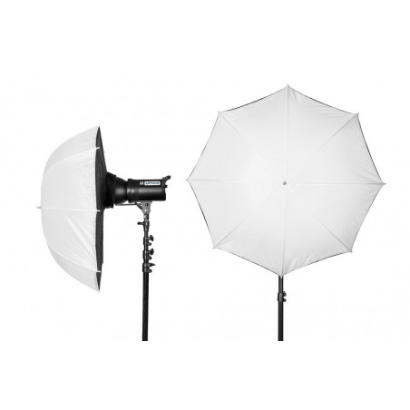 Quantuum Umbrella Softbox 40 (101cm) parasolka transparentna/softbox