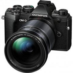 Olympus OM-D E-M5 Mark III czarny + 12‑200mm f/3.5‑6.3   CASHBACK 650zł