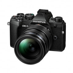 Olympus OM-D E-M5 Mark III czarny + 12-40mm F2.8 PRO   PROMOCJA