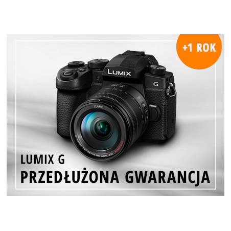 Panasonic gwarancja + 1 rok dla aparatów serii Lumix G (EGDSCLUMG1)
