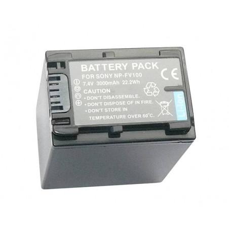 Zoom akumulator NP-FV100 3000mAh