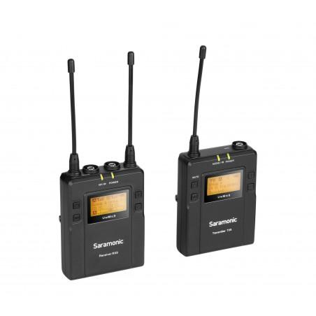 Saramonic UwMic9 Kit 1 (RX9 + TX9) bezprzewodowy zestaw audio + walizka transportowa Saramonic za 1zł