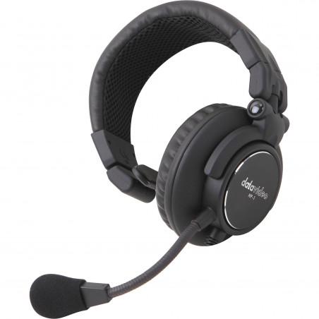 Datavideo HP-1E jednouszny zestaw słuchawkowy