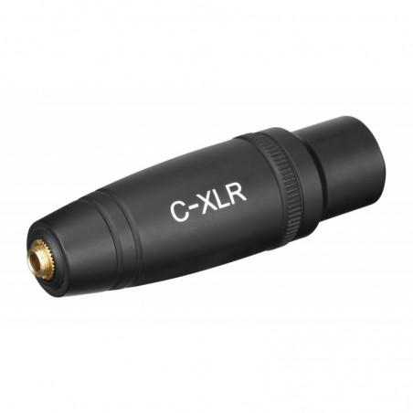 Saramonic C-XLR adapter mini Jack TRS żeński / XLR męski