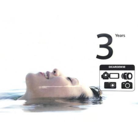 Sony gwarancja + 3 dodatkowe lata gwarancji producenta (DICARDEW3E)