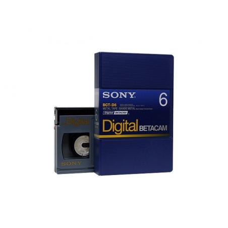 Kaseta Sony BCT-D6