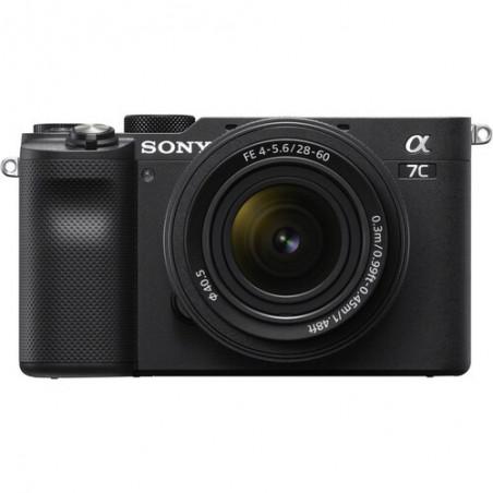Sony A7C + 28-60mm f/4-5.6 (ILCE-7CL) kompaktowy aparat pełnoklatkowy (czarny)