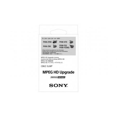 Sony CBKZ-SLMP MPEG-2 4:2:2 aktualizacja oprogramowania