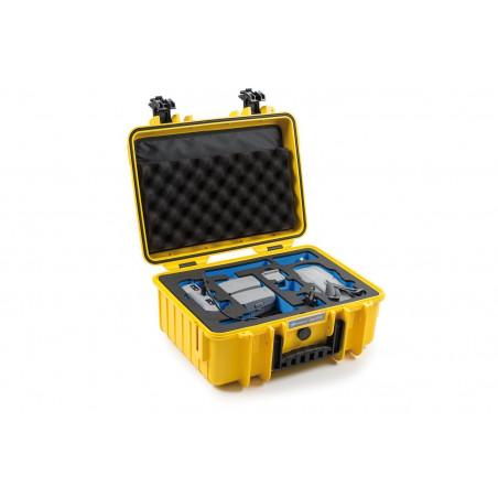 Walizka B&W typ 4000 do DJI Mavic Air 2 (żółta)
