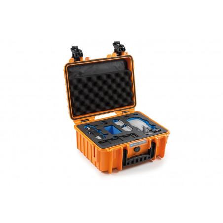 Walizka B&W typ 3000 do DJI Mavic Air 2 (pomarańczowa)