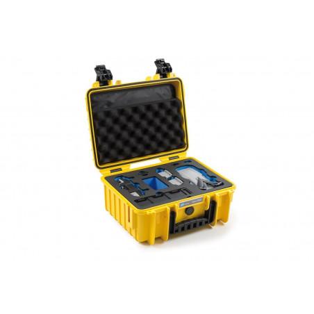 Walizka B&W typ 3000 do DJI Mavic Air 2 (żółta)