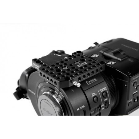 Wooden Camera Top Plate FS700