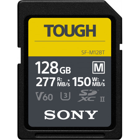 Karta pamięci Sony SF-M Tough SDXC 128GB UHS-II U3 C10 (SF-M128T)