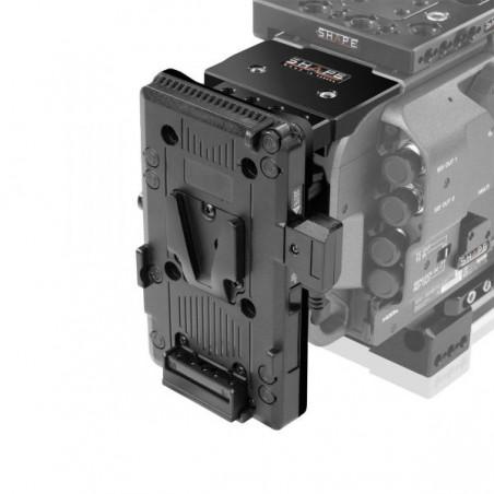 Shape Sony FX9 obrotowa płyta akumulatora V-mount (SHVPBFX)
