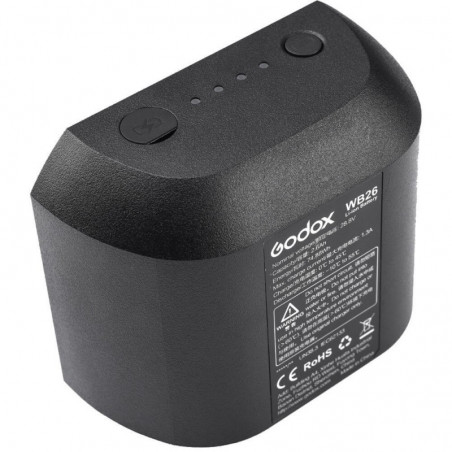 Godox WB26 akumulator do AD600 Pro TTL