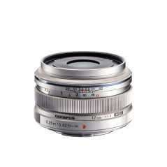 Olympus M.ZUIKO DIGITAL ED 17mm f/1.8 srebrny