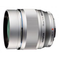 Olympus M.Zuiko Digital 75mm f/1.8 Srebrny | CASHBACK 450zł