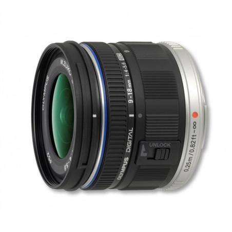 Obiektyw Olympus M.Zuiko Digital ED 9-18mm 1:4.0-5.6 czarny