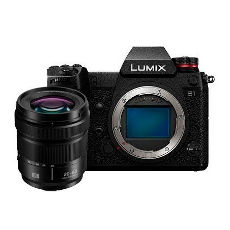 Panasonic Lumix DC-S1K Kit 20-60 mm f/3.5-5.6 (DC-S1KEE-K)