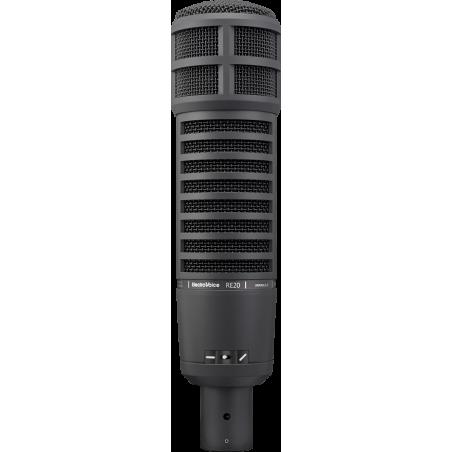 Electro-Voice RE20 Black Mikrofon reporterski i radiowy