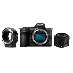 Nikon Z5 + Nikkor 24-50mm f/4-6.3 + adapter FTZ   RABAT 930zł