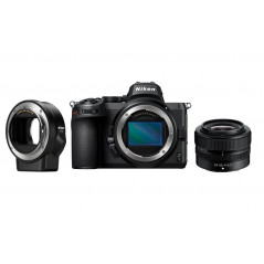 Nikon Z5 + Nikkor 24-50mm f/4-6.3 + adapter FTZ