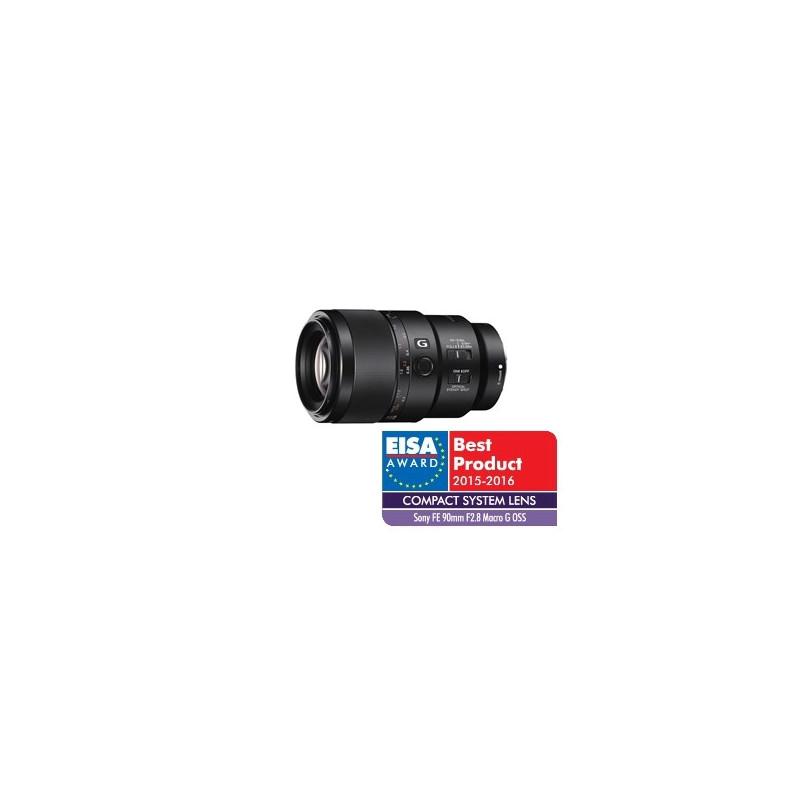 Obiektyw SONY FE 90 mm F2,8 Macro G OSS + Cashback 450 zł
