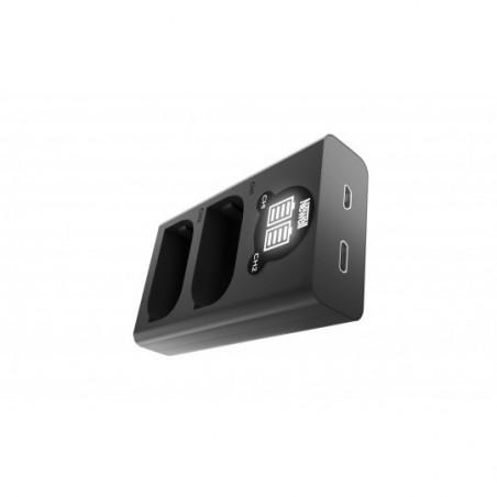 Ładowarka dwukanałowa Newell DL-USB-C do akumulatorów DMW-BLK22