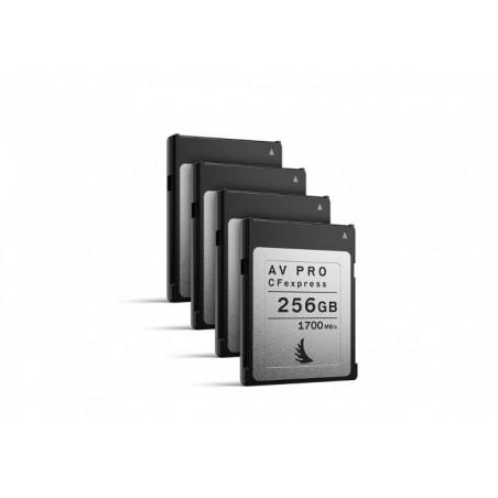 Karta Pamięci Angelbird AV PRO CFexpress 256 GB   4 PACK (AVP256CFXX4)